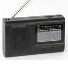 W2005 RADIO WINCO 9 BAND. . DUAL
