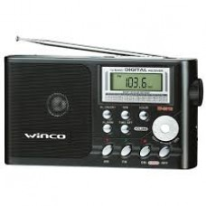 W9913 RADIO WINCO 12 BAND. AM/FM CON RELOJ DESPERTADOR
