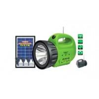 ZK2181A LINTERNA FAROL SOLAR 7W CON RADIO Y LECTOR USB